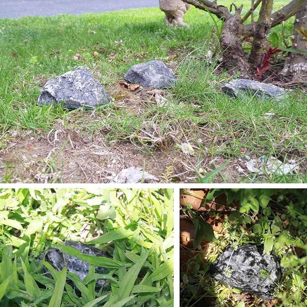 Ressemble /à de la Vraie Pierre SH-Flying Fake Rock Hide-a-Spare-Key S/écuritaire pour Les Jardins ou Les Cours ext/érieurs