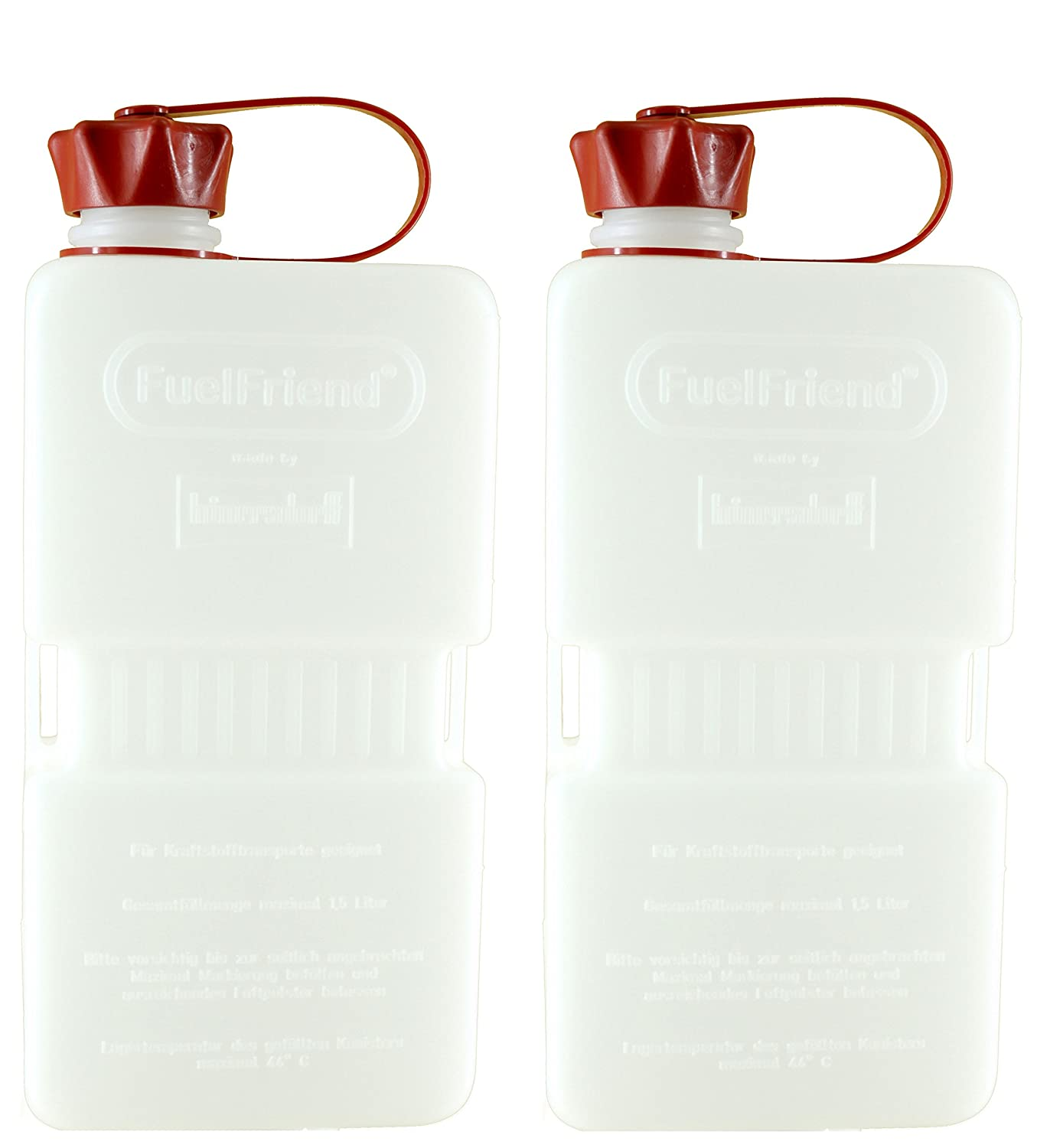 FuelFriend® -PLUS CLEAR - Jerrycan 1.5 liters - 2 pieces for a special price hünersdorff 2FFPC15