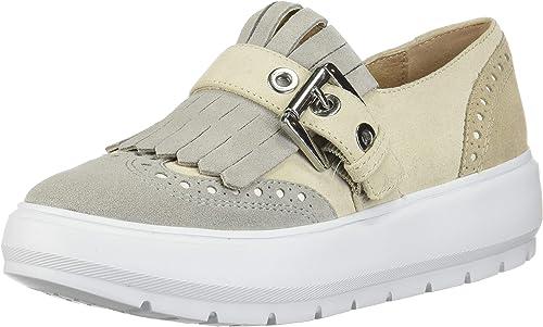 Estimado conocido saber  Geox Women's D Kaula B Low-Top Sneakers: Amazon.co.uk: Shoes & Bags