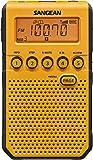 Sangean DT-800YL AM / FM / NOAA Weather Alert Rechargeable Pocket Radio (Yellow)