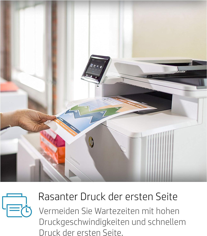 Hp Color Laserjet Pro M477fdw Farblaserdrucker Computer Zubehör