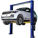 APlusLift HW-10KOH 10,000LB Two Post Overhead Auto Hoist Clear Floor Car Lift with Combo (Symmetric and Asymmetric) Arms…