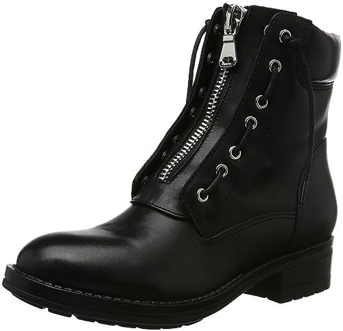 Aldo Isaaca, Botas Militar para Mujer, Negro (Black Leather/97), 41 EU