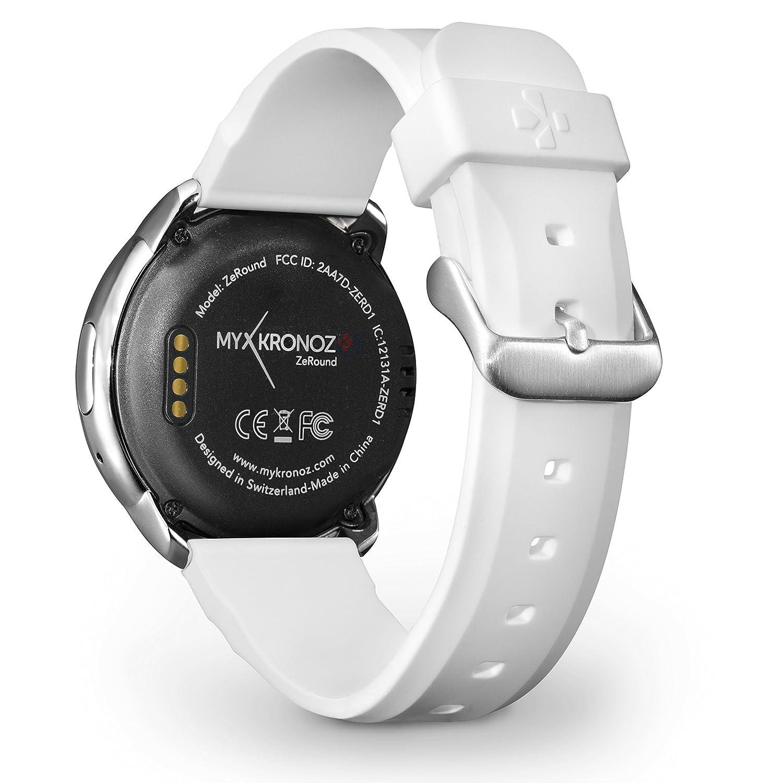 MyKronoz ZEROUND Blanco BXMKZRW-Smartwatch de 1.2