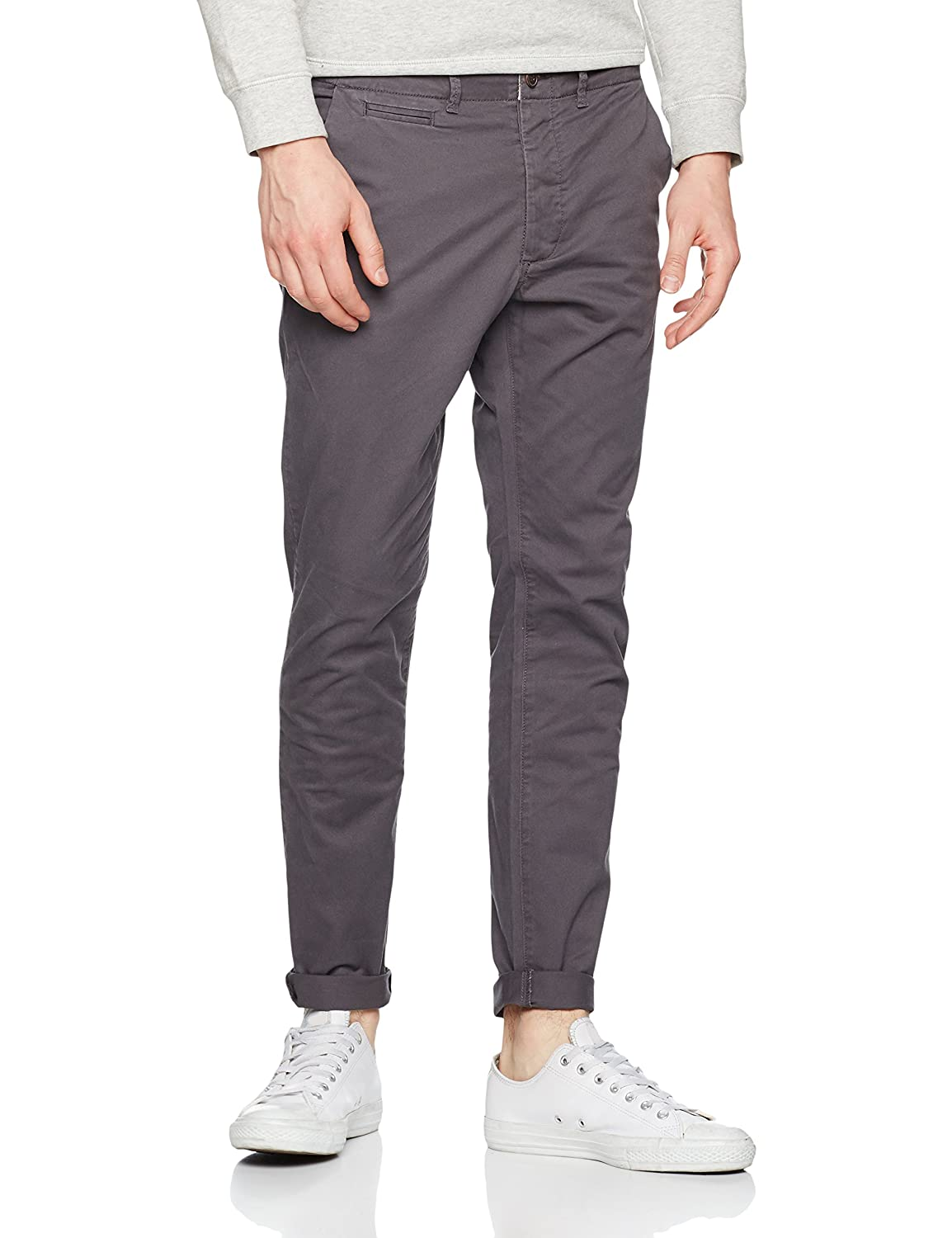 bea25e7c06 Jack   Jones Men s Jjimarco Jjenzo Dark WW 420 Noos Trouser  Amazon.ca   Clothing   Accessories