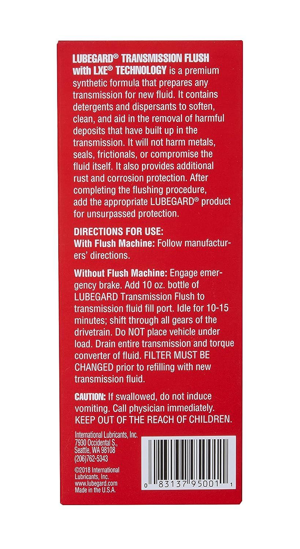 Lubegard 95001 Transmission Flush, 10 oz