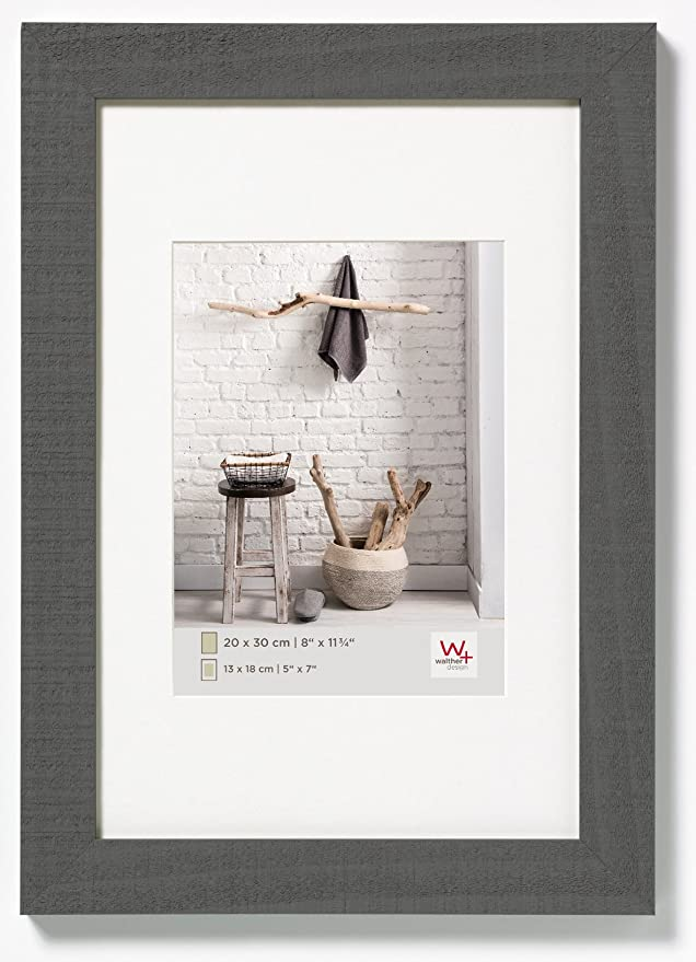 walther design HO318D Home wooden picture frame, 5 x 7 inch (13 x 18 ...