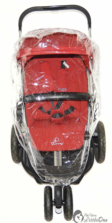 Protector de lluvia Compatible con BABY JOGGER City Mini GT/ /Carrito