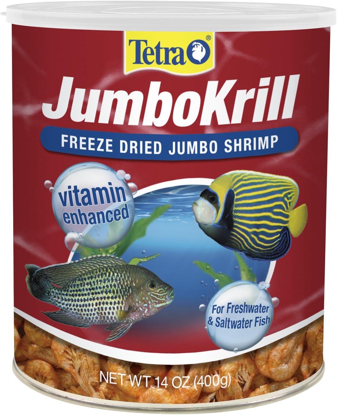 Tetra 16200 84 oz Jumbo Krill Aquatic Supplement, One Size