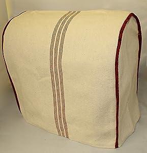 Lift Head KitchenAid Cover, Red Feedsack