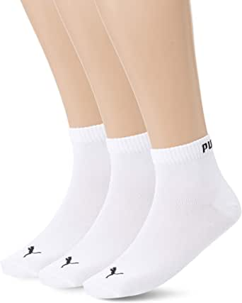 Puma Men's Unisex Quarter 3P Socks