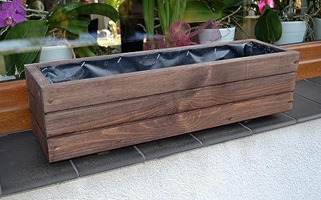 Nuovo sottovasi in legno per piante, ideali per giardino, balcone e ...