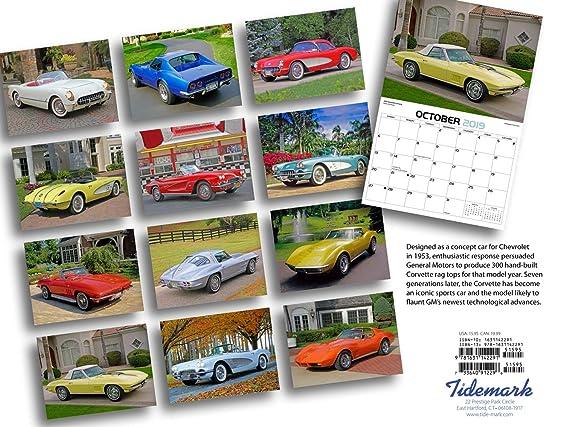 Classic Corvettes 2019 Calendar: Amazon ca: Dan Lyons: Books