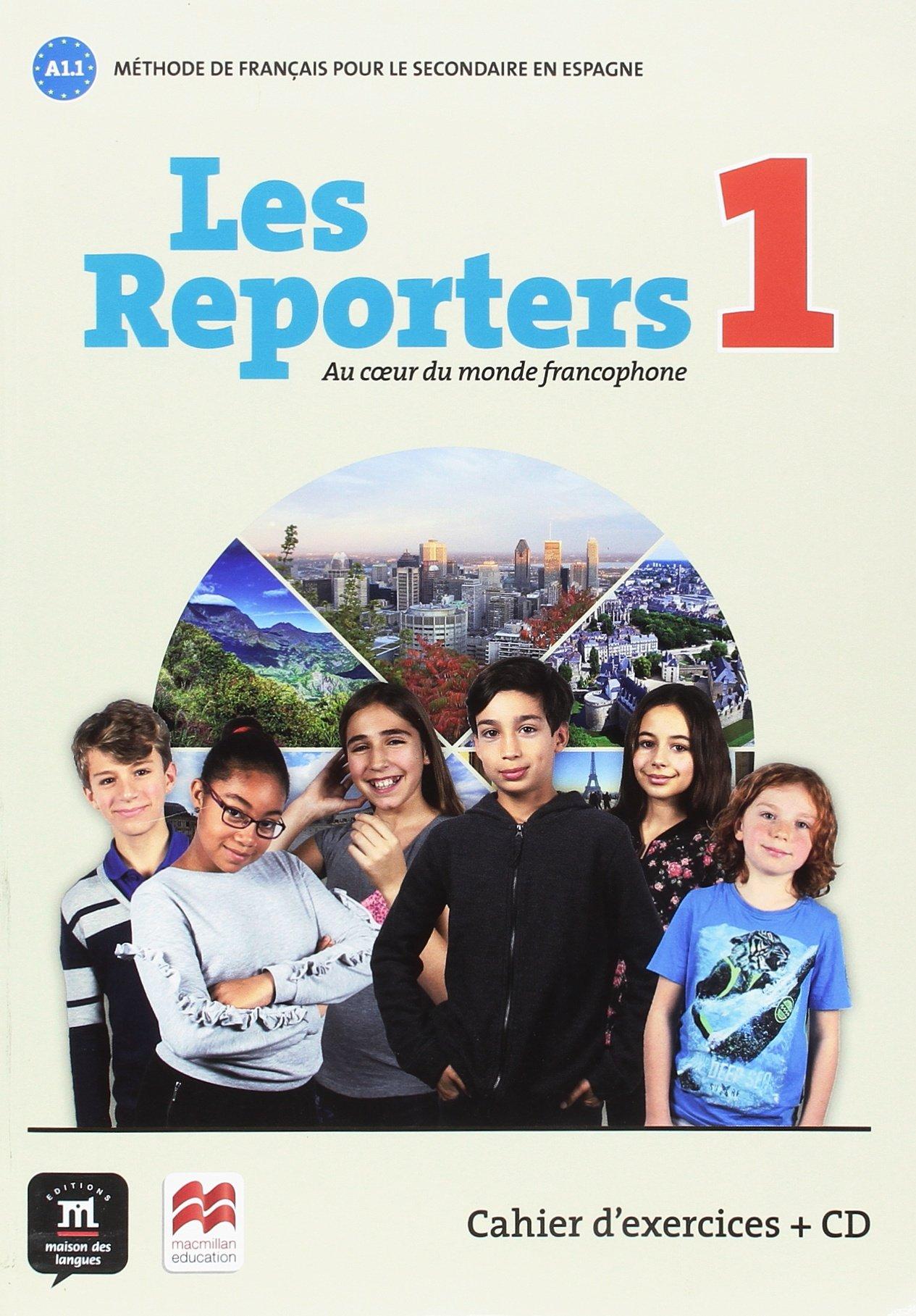 Les Reporters 1: Au coeur du monde francophone: Amazon.es: Gwnendoline Le Ray, Stéphanie Pace: Libros en idiomas extranjeros