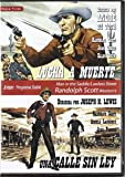 Randolph Scott Double-Bill: Man in the Saddle (1951) / A Lawless Street (1955) - Region Free PAL Double-DVD, plays in English without subtitles