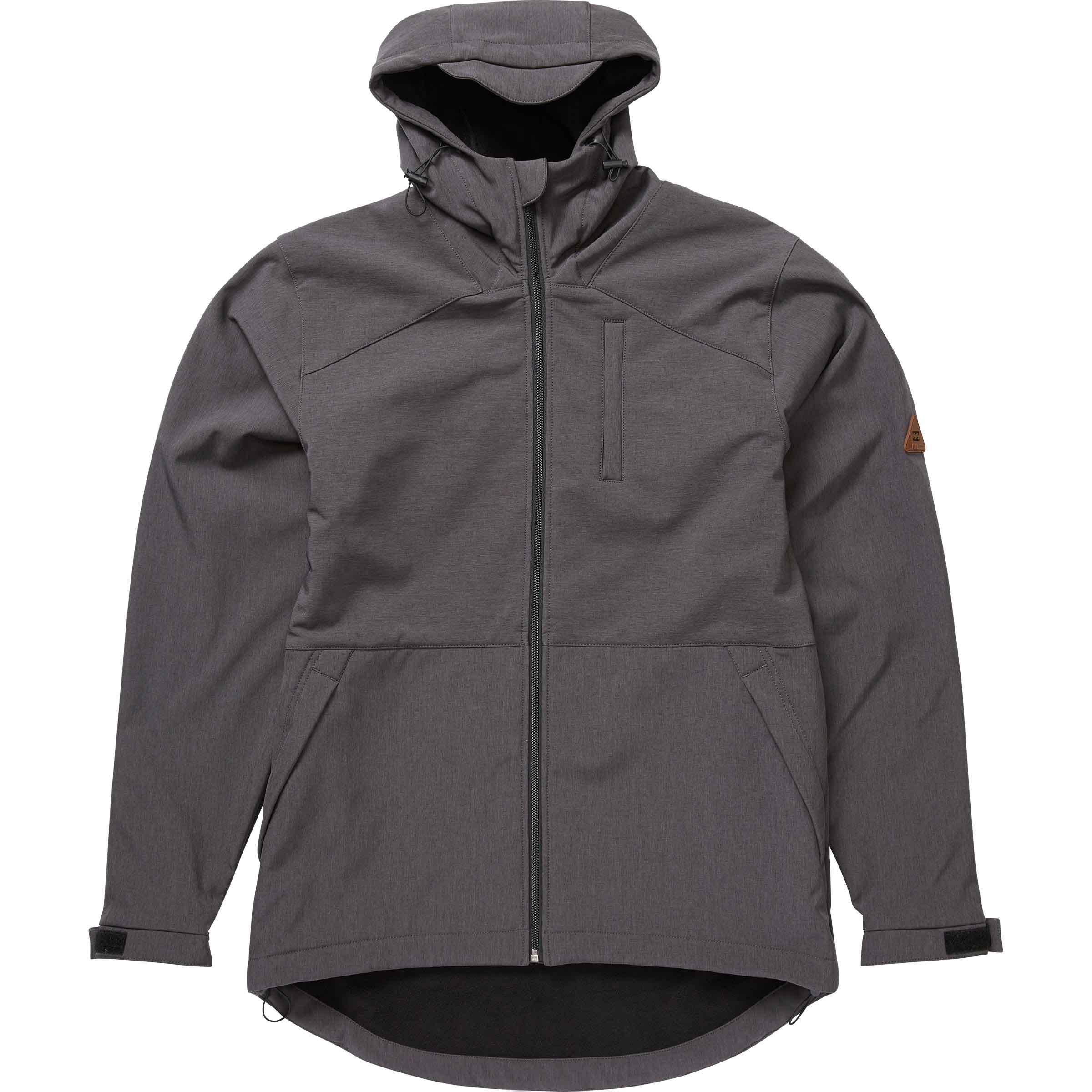 Billabong Men's Avalon Jacket, Asphalt, Large