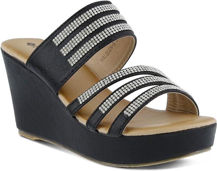 64c232bd4e6a PATRIZIA Women s Halogen Slide Sandal Black