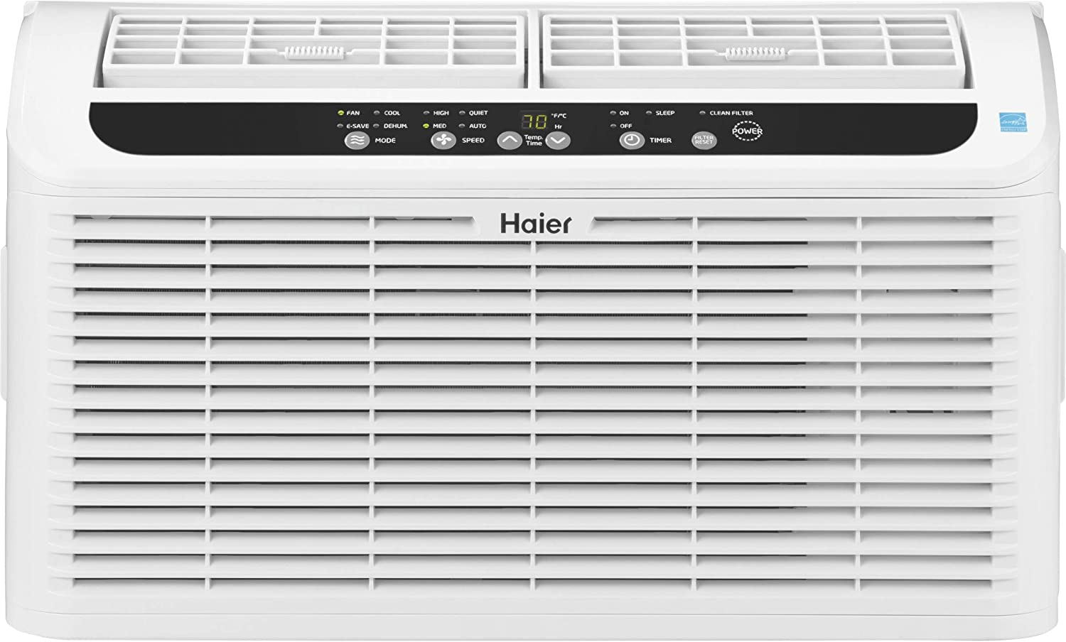 Haier Serenity Series Quiet 6,000 BTU 115-Volt Window Air Conditioner humidty-Meters