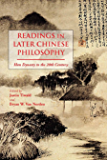 Readings in Later Chinese Philosophy: Han to the 20th Century