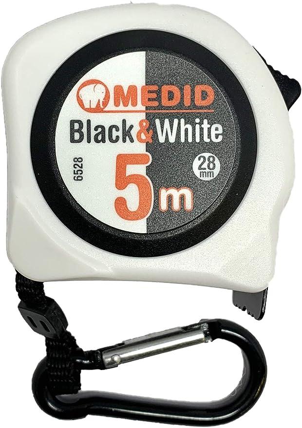 Medid 6528 Flexometro BLACK & WHITE: Amazon.es: Bricolaje y ...