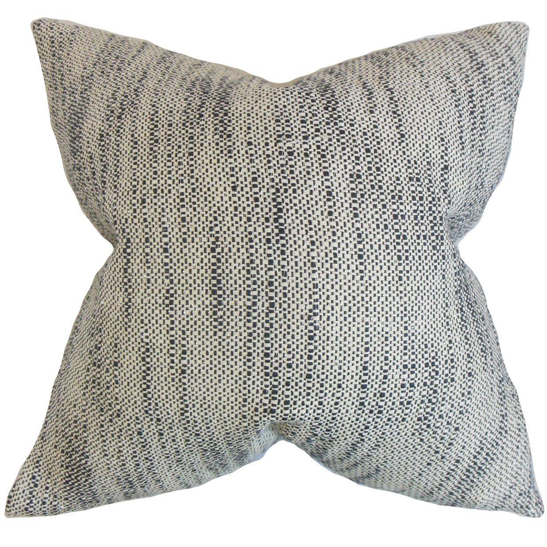 The Pillow Collection Lakota Stripes Bedding Sham Ebony King/20' x 36'