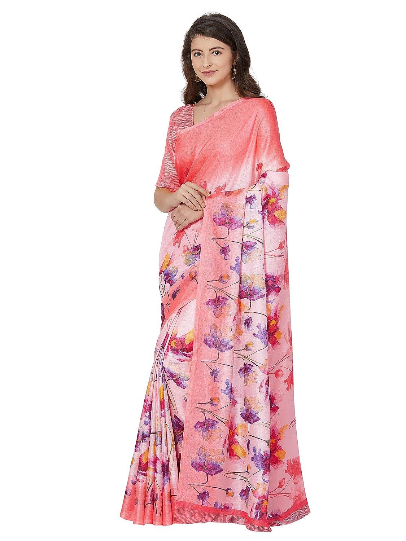 Sourbh Womens Art Silk Printed Saree