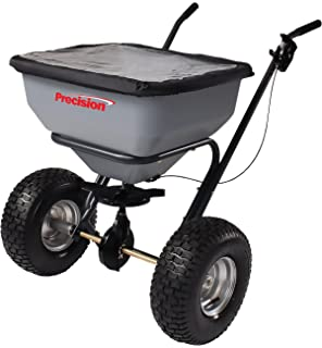 precision products 130 pound capacity commercial broadcast spreader sb6000rd - Ames Garden Cart