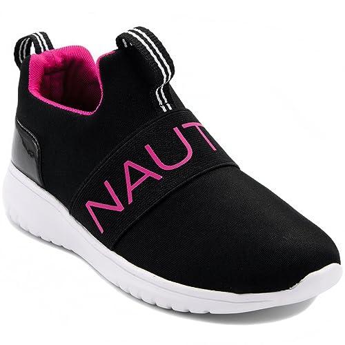 Amazon.com: Nautica Canvey - Zapatillas de deporte para niña ...