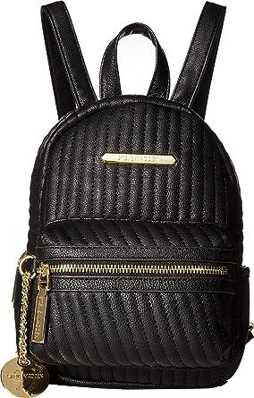 f6bce5a0f0 Amazon.com   Steve Madden Women's Bbailey Quilt Backpack Black One ...