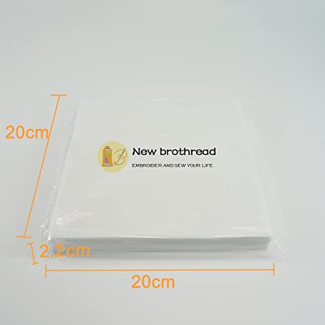 New brothread Tear Away desgarrar de Estabilizador de bordado 8