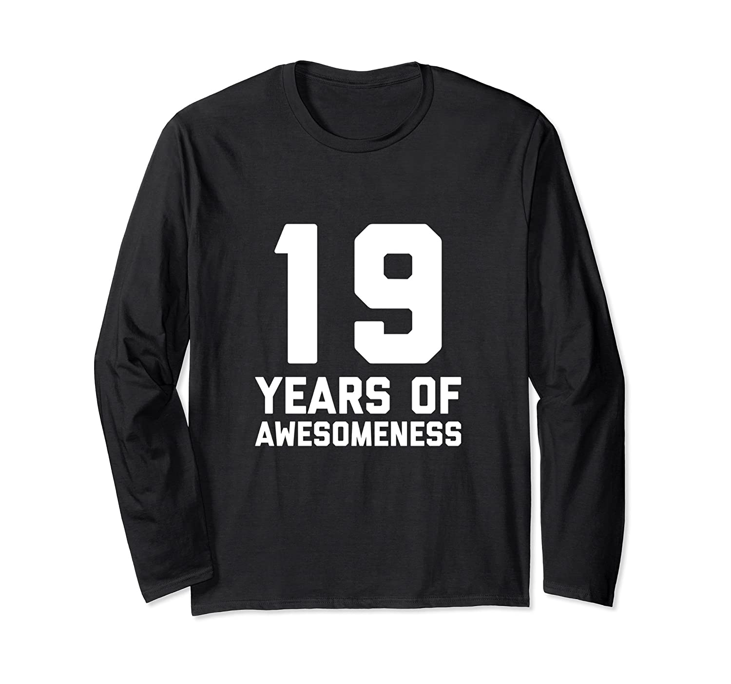 19th Birthday Shirt Gift Age 19 Year Old Boy Girl Tshirt Tee ANZ