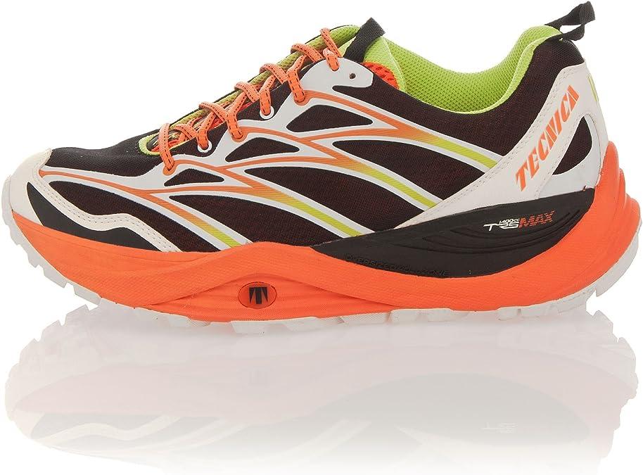 Tecnica Zapatillas Trail Running Demon MAX Ms 11227500 Naranja/Lima EU 40 2/3 (UK 7): Amazon.es: Zapatos y complementos