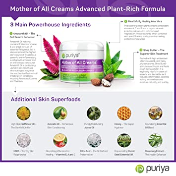 Amazon Com Puriya Cream For Eczema Psoriasis Dermatitis And