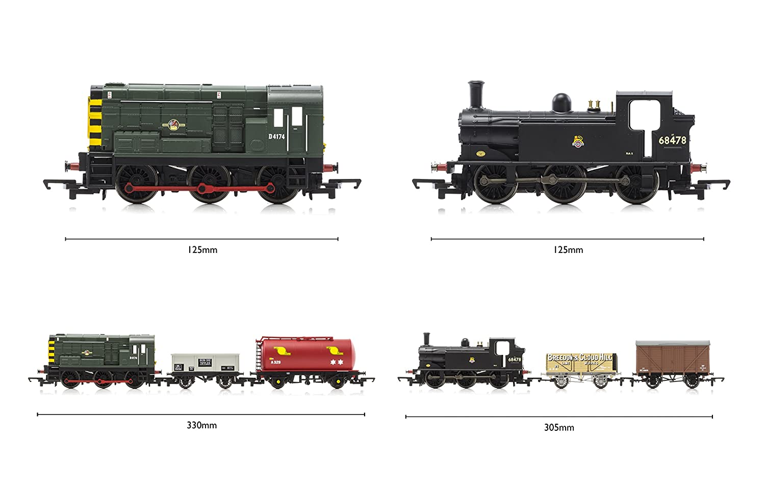 Hornby Hobbies Ltd R1126 Mixed Freight 00 Gauge Dcc Electric Train Fashion Model Railroading Electronics That Electronic Set Toys Games