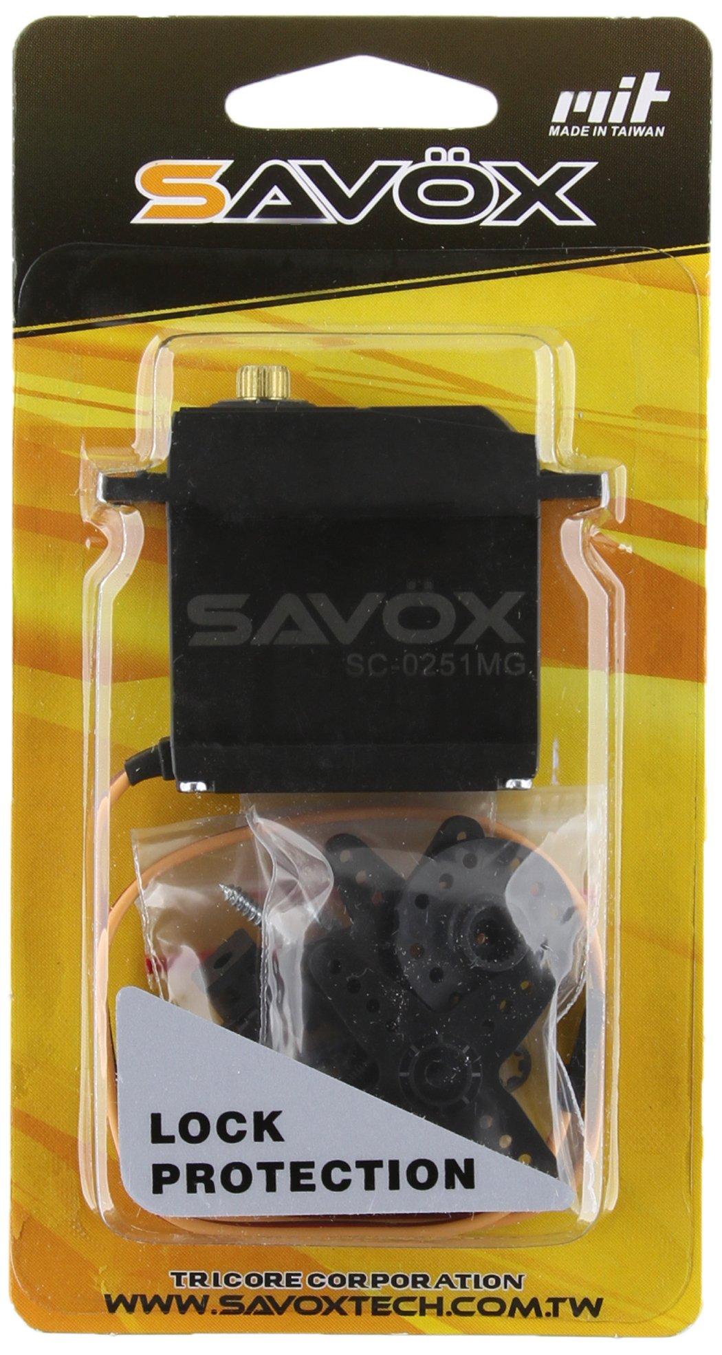 Savox SC-0251 High Torque Metal Gear Larger than Standard Digital Servo