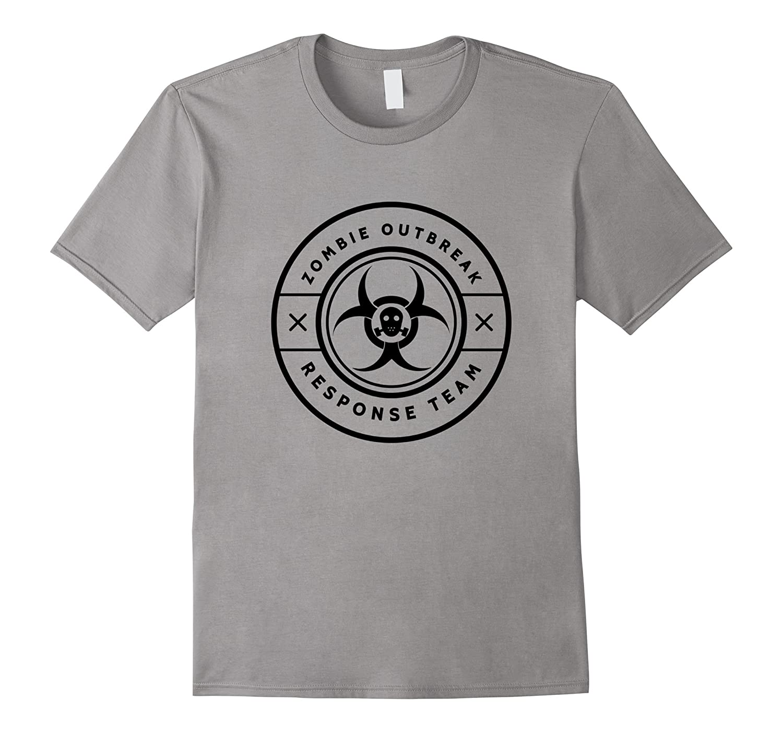 Zombie Outbreak Response Team Funny Apocalypse Gag T-Shirt-PL