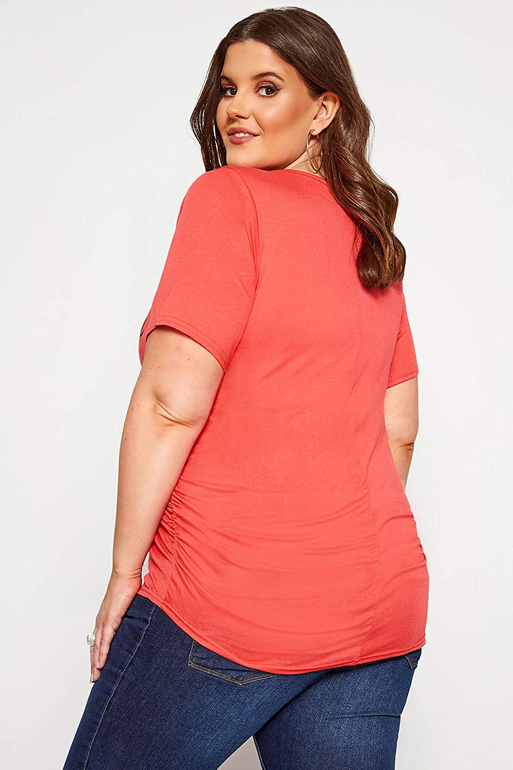 Yours Clothing Womens Plus Size Maternity Slogan T-Shirt