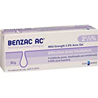 Benzac AC 2.5% Mild Acne Gel, 50g