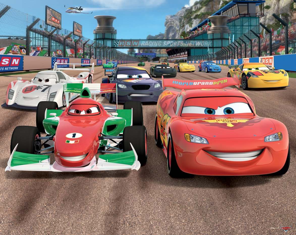 Fototapete - Cars - Disney: Amazon.de: Baumarkt