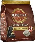 Café Marcilla Gran Aroma Extra Fuerte, 28 monodosis. - [Pack de 5]