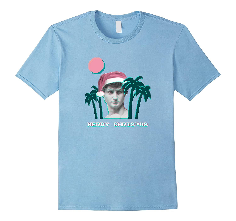 Vaporwave Christmas Sweater.Retro Vaporwave Christmas T Shirt Anz