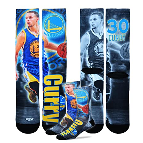 sneakers for cheap 61646 92c8d Golden State Warriors Youth Size NBA Drive Crew Kids Socks (4-8 YRS) 1 Pair  - Stephen Curry