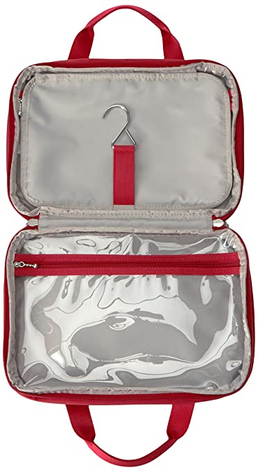b3011cd5e1 Amazon.com  Baggallini Deluxe Travel Cosmetic Apple  Clothing