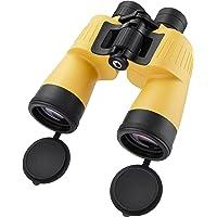 BARSKA AB12738 Floatmaster 7x50 Waterproof Floating Marine Binoculars for Boating, Hunting, Fishing, Sports, etc, Yellow