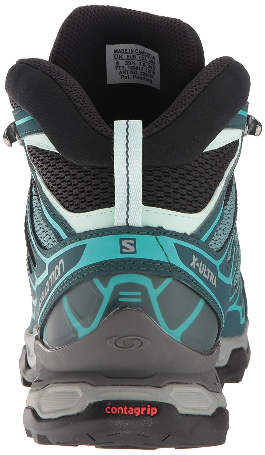 Salomon Women's X Ultra Mid Aero W Hiking US|North Boot B01HD2NGOO 7 B(M) US|North Hiking Atlantic/Reflecting Pond/Ceramic 739f4d