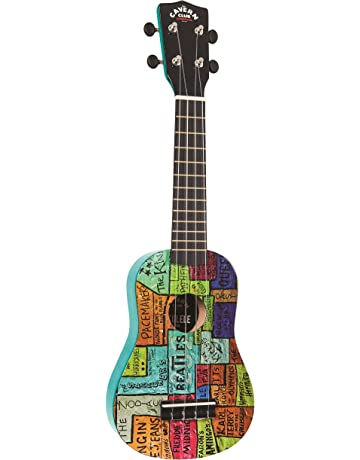 The Cavern Club CVUK1 The Wall - Juego de ukelele