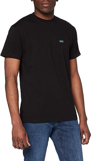 TALLA M. Vans Left Chest Logo tee Camiseta para Hombre