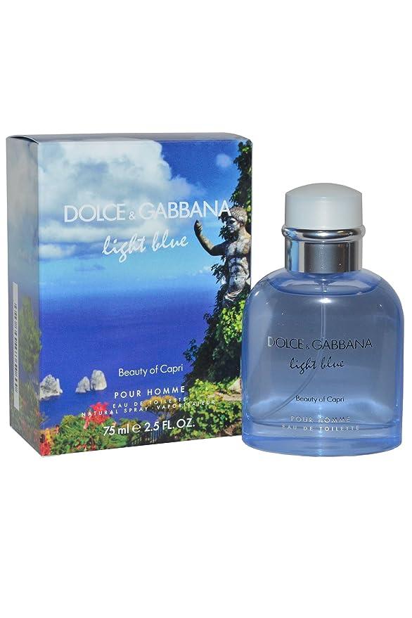 Dolceamp; Alcoolisée Gabbana Ml Clair Capri 75 Ph Bleu m8nw0vN