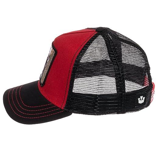 68b59d9d6f6 Amazon.com  Goorin Bros Mens Woody Pecker Animal Trucker Baseball Cap (Red)   Clothing