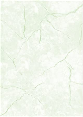 SIGEL DP641 Papel de cartas, 21 x 29,7 cm, 90g/m², textura granito, verde, 100 hojas